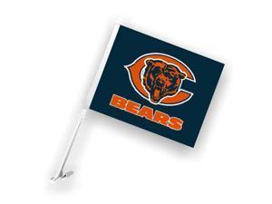 Fremont Die 98901 Chicago Bears- Car Flag W-Wall Brackett