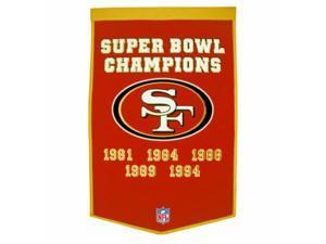 Winning Streak 139453 San Francisco 49ers NFL Dynasty Banner