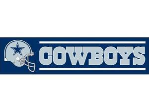Party Animal BDA Cowboys 8ft X 2ft Banner