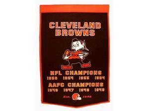 Winning Streak Sports 77060 Cleveland Browns Banner