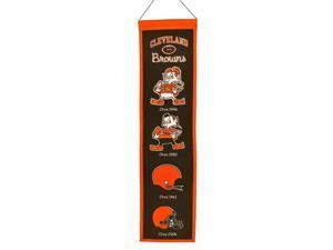 Winning Streak Sports 44046 Cleveland Browns Heritage Banner