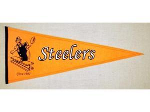 Winning Streak Sports Pennants 61241 Pittsburgh Steelers Throwback