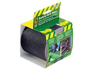 Incom Manufacturing 4in. X 15 Black Gator Grip Anti Slip Safety Grit Tape  RE395