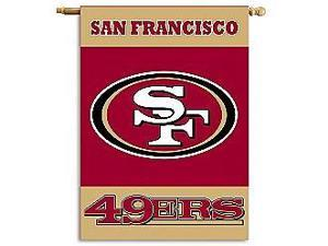 Fremont Die- Inc. 94805B 2-Sided 28 X 40 House Banner - San Francisco 49Ers