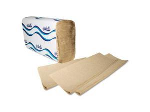 Multifold Paper Towels 1-Ply 9 1/5 x 9 2/5 Natural 250/Pack 16 Packs/Carton