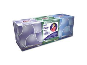 KIMBERLY-CLARK PROFESSIONAL* 21286 KLEENEX 3-Ply Anti-Viral Facial Tissue- Pop-Up Cube- 75/Box- 3 Boxes/Pack