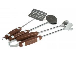 The Companion Group CC1043 Football 3PC BBQ Tool Set (S,T,GB)