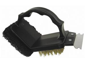 Onward Grill Pro 2 Way Grill Brush With Scrubber  77350