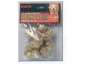 Hartz 84369 Natural Rawhide Prime Beef Flavor Treat  4 Pack