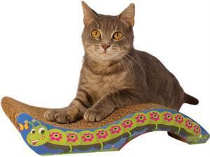 Imperial Cat 01117 Scratch N Shapes Caterpillar Cat Scratcher
