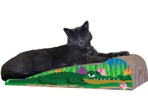 Imperial Cat 00190 Medium Alligator Cat Scratcher