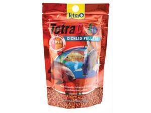 United Pet Group Tetra - Tetracolor Cichlid Pellets Small-1.94 Oz - 77265