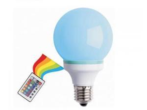 Creative Motion Industries 12882 Multi-Color Changing LED Bulb with a Remote Controller