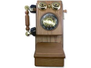 Golden Eagle GOLD-GEE-8705K Country Wood Phone OAK