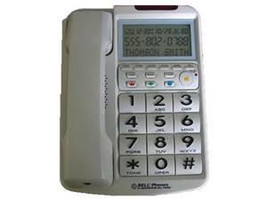 Northwestern Bell NWB-20270-1 Big Button with Caller ID WHITE