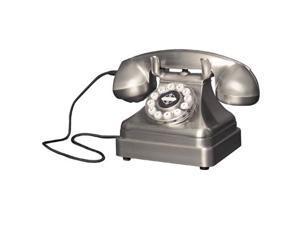 Crosley Radio Cr62-bc Kettle Classic Desk Phone - brushed Chrome