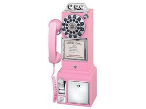 Crosley CR56-PI 1950 s Classic Pay Phone  Pink