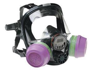 North Safety 068-760008A Medium-Large Full Face Silicone Respirator