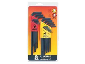Bondhus 116-22199 Inch-Mm Hex L-Wrench Setw-12137 & 1