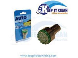 Keep It Clean 1157LEDG Super Bright Green 1157 Led 12v Bulb