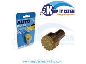 Keep It Clean 1157LEDY Super Bright Yellow 1157 Led 12v Bulb