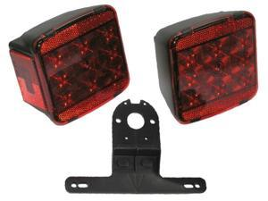 Peterson Mfg. LED Under 80in. Wide Trailer Light Kit  V941