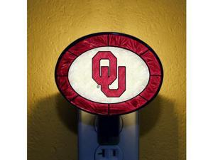 Memory COL-OK-246 Art-Glass Nightlight-Oklahoma