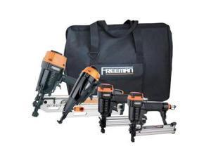 Freeman P4FRFNCB Finishing Combo Kit with Canvas Bag