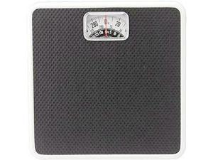 Metro Scales 2004B BLK Analog Bath Scale - Black - Pack of 4