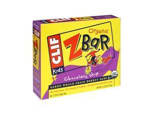 Clif 31937 Organic Chocolate Chip Zbar
