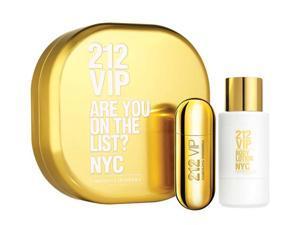Carolina Herrera W-GS-2873 212 VIP by Carolina Herrera for Women - 2 Pc Gift Set 2.7oz EDP Spray, 3.4oz Body Lotion