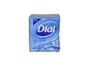 Dial U-BB-1330 Spring Water Antibacterial Deodorant Soap - 3 x 4 oz - Soap