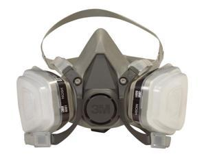 3m Dual Cartridge Paint Spray Respirator  6211PA1-A