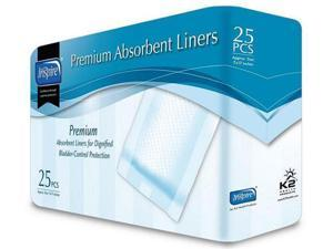 K2 Health Products LN10-7 Inspire Premium Absorbent Liners - 7 in. x 17 in. Case of 250