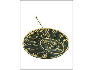 Rome Industries 2309 Brass Modern Times Sundial