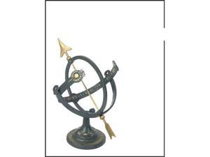 Rome Industries 1339 Cast Iron Armillary Sundial