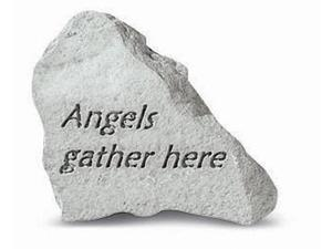 Kay Berry- Inc. 74620 Angels Gather Here - Memorial - 3.25 Inches x 3.5 Inches