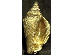 Mayer Mill Brass - CONK-1 - Conch Shell Door Knocker