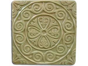 Garden Molds X-MEDTIL8049 Medieval Tile Stepping Stone Mold- Set of 2