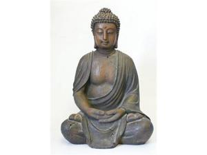 Alpine Corp GEM170 Buddha Statue Decoration