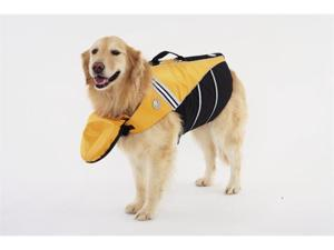 Doggles FDJASM03 Small Flotation Jacket -Yellow