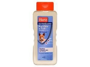 Hartz Ultraguard Rid Flea & Tick Dog Shampoo With Oatmeal  02305