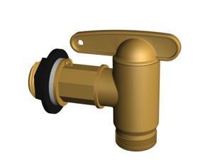 TDI 504044 Aqua Quick Tap - Brass