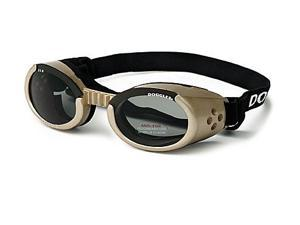 Doggles DGILSM16 Small ILS - Chrome Frame - Smoke Lens