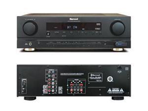 Sherwood RX4503 100 Watt RMS Dolby Virtual Surround Sound Receiver - Black