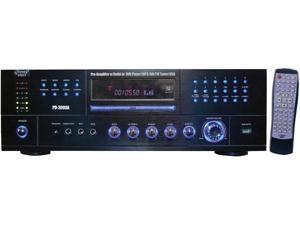 PYLE-HOME PD3000A 3000 - WATT AM/FM RECEIVER WITH BUILT - IN DVD MP3 & USB