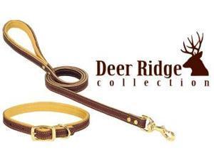 "Weaver Deer Ridge Leather Collar 1""x 19"" - 06-1313-19"