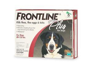 Frontline 89-132-6PK-PS Application plus For Dogs And Puppies 89-132lb