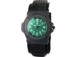 Smith & Wesson SWW-11B-GLOW Lawman Black Nylon Strap Watch
