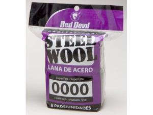 Red Devil 8 Pack NO.0000 Steel Wool  0320